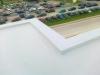 Biała folia dachowa do zmniejszenia zapotrzebowania energetycznego budynków